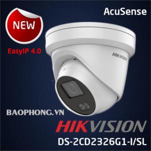Camera Hikvision Ds 2cd2326g1 I Sl